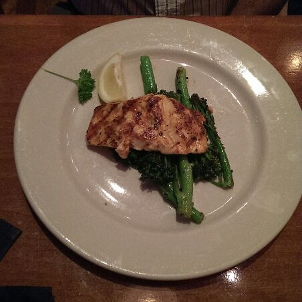Salmon With Broccoli  - McAdoo's, New Braunfels, TX