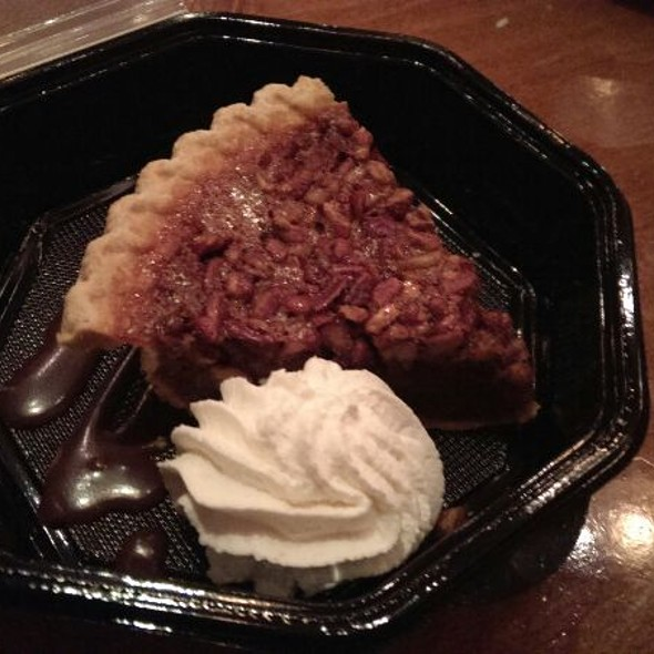 Bourbon Pecan Pie With Home Made Whip Cream  - McAdoo's, New Braunfels, TX