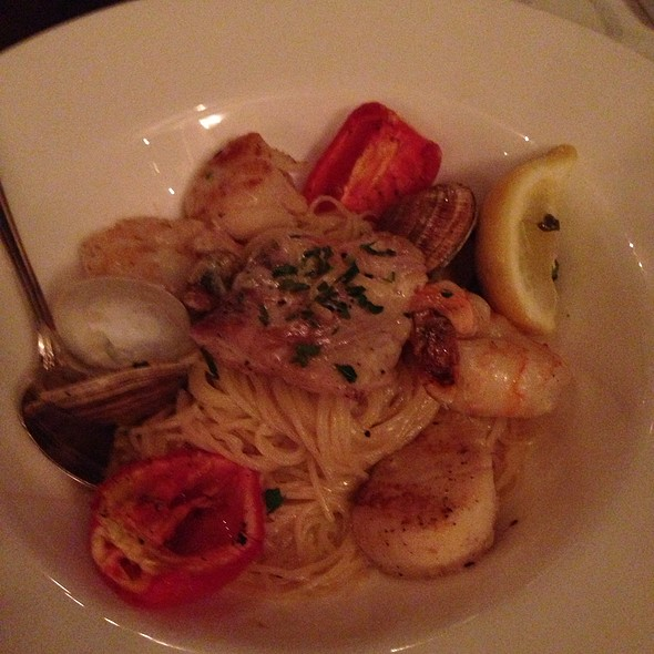 Pasta Di Mare - Mama Della's Ristorante at Loews Portofino Bay Hotel, Orlando, FL