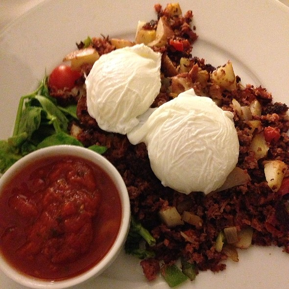 Corned Beef Hash and Eggs - Tusca - Hyatt Regency Orange County, Garden Grove, CA