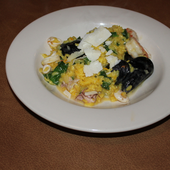 Risoto con Frutta di Mare! - That's Amore Italian Cafe, Seattle, WA