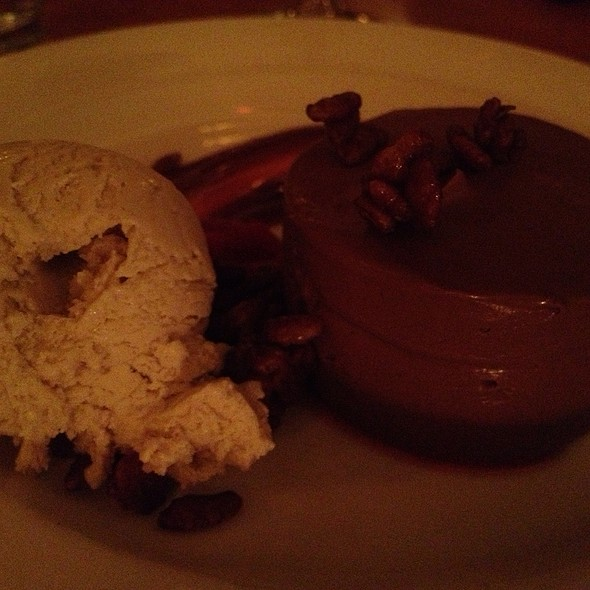 Chocolate Mousse - Firefly Restaurant, San Francisco, CA