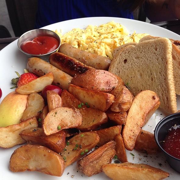 2 Egg Breakfast With Sausage - Hooded Merganser at Penticton Lakeside Resort, Penticton, BC