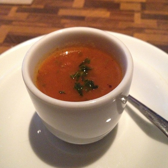 Tomato Basil Soup Amouse Bouche - Local, Dallas, TX