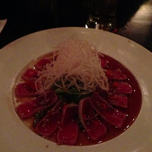 Peppered Tuna Tataki - Hotoke, New Brunswick, NJ
