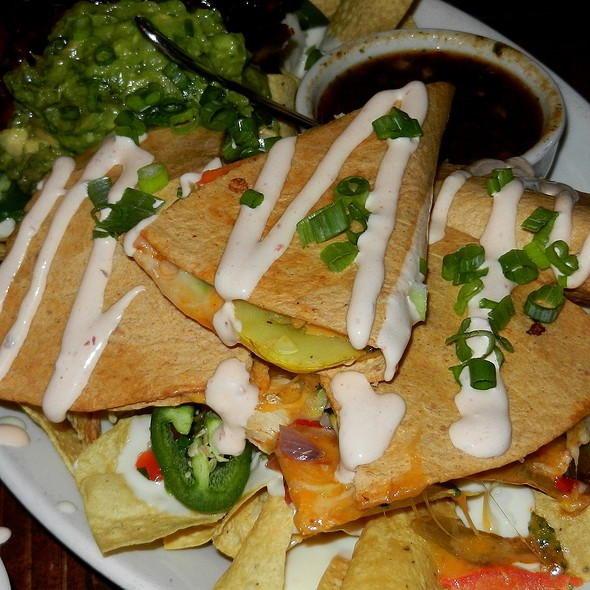 Chicken Stuffed Quesadillas  - Old Town Tortilla Factory, Scottsdale, AZ