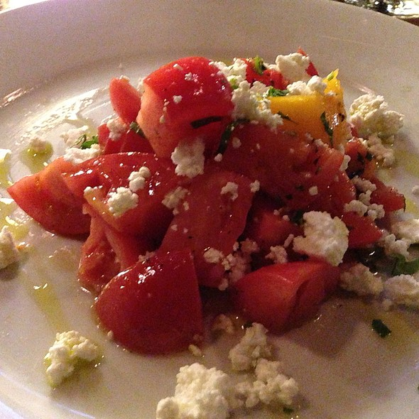 Hierloom Tomato Goat Cheese Salad - Betty, Seattle, WA