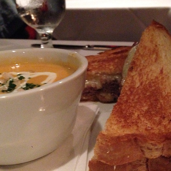 Truffle Grilled Cheese With Short Ribs - The Cellar - Fullerton CA, Fullerton, CA