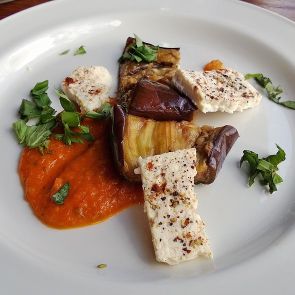 Roast Aubergine - Cantina del Ponte, London