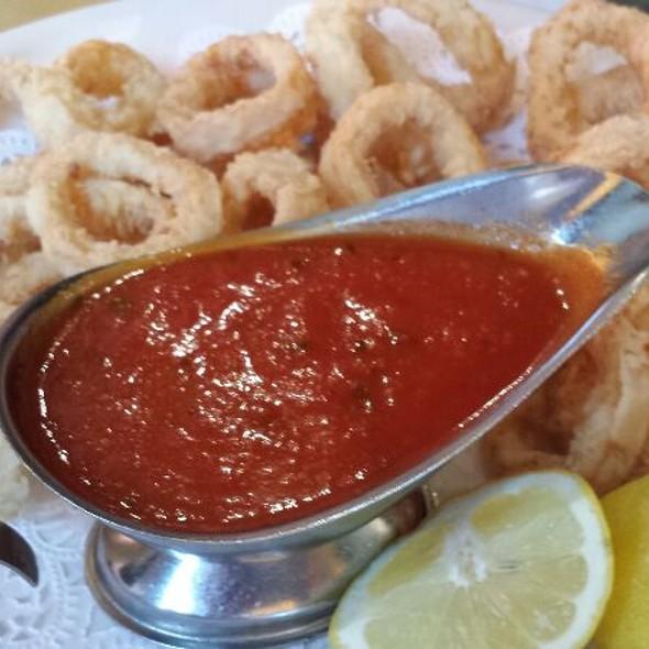 Calamari Fritti - Caffe Napoli, New York, NY