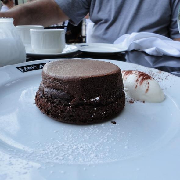 Gluten Free Molten Chocolate Cake - Mon Ami Gabi, Chicago, IL