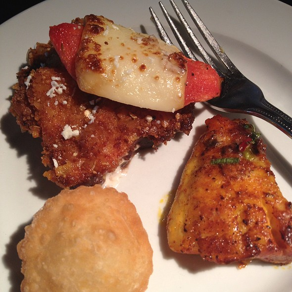 Fried Chicken, Empenada, And Tilapia - Churrascos - The Woodlands, The Woodlands, TX