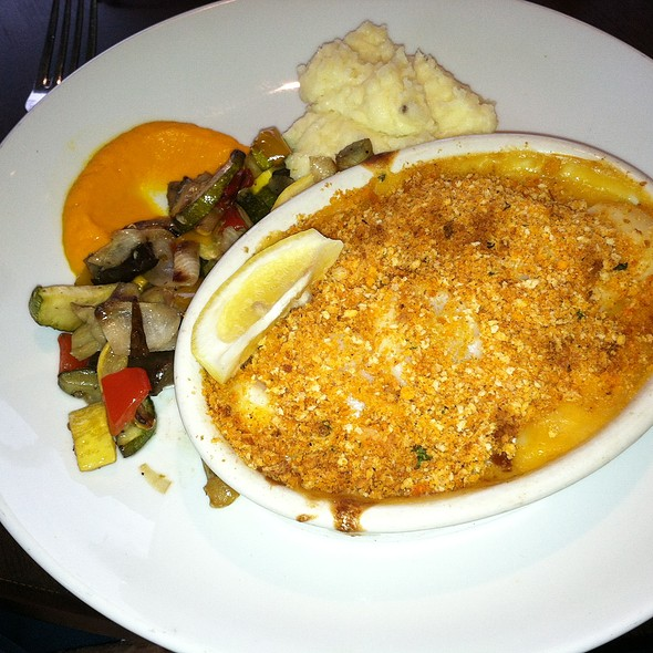 Seafood Casserole Special - Seaglass Restaurant and Lounge, Salisbury, MA
