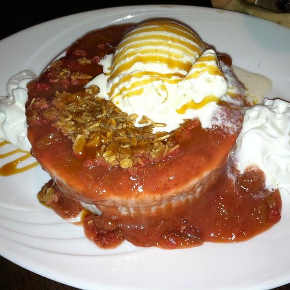 Strawberry Rhubarb Crisp - Seaglass Restaurant and Lounge, Salisbury, MA