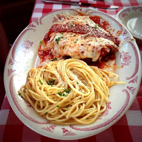Chicken Parmigiana - Kenny's Italian Kitchen, Dallas, TX