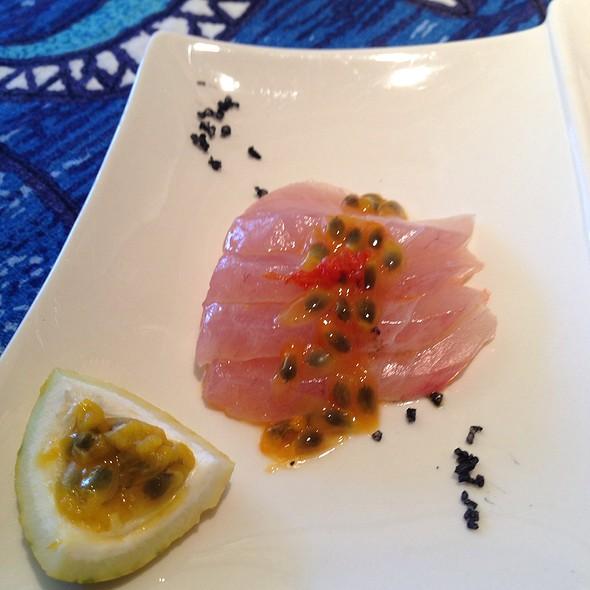 Kampachi Sashimi - Mama's Fish House, Paia, HI