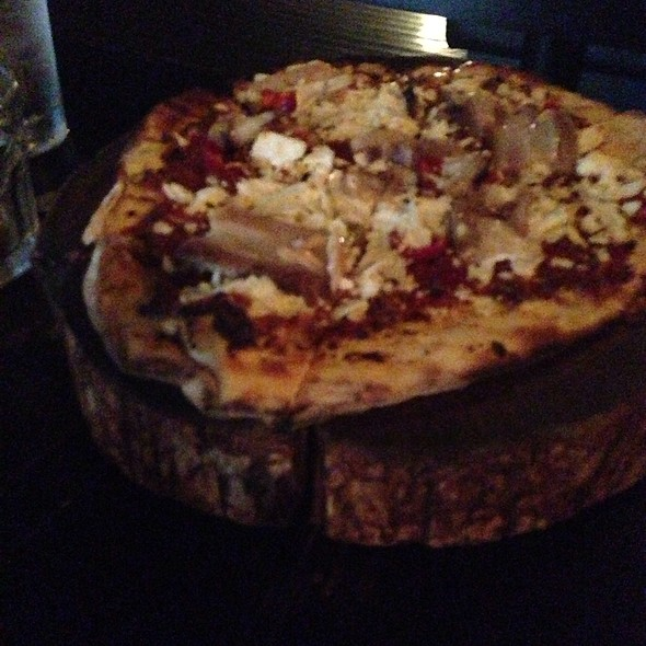 Pork Belly Pizza - Three Aces, Chicago, IL