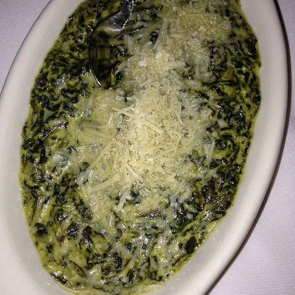 Creamed Spinach Omlette - Shula's Steak House - Miami Beach, Miami Beach, FL