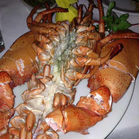 4 & 1/2 Pound Lobster - Shula's Steak House - Miami Beach, Miami Beach, FL
