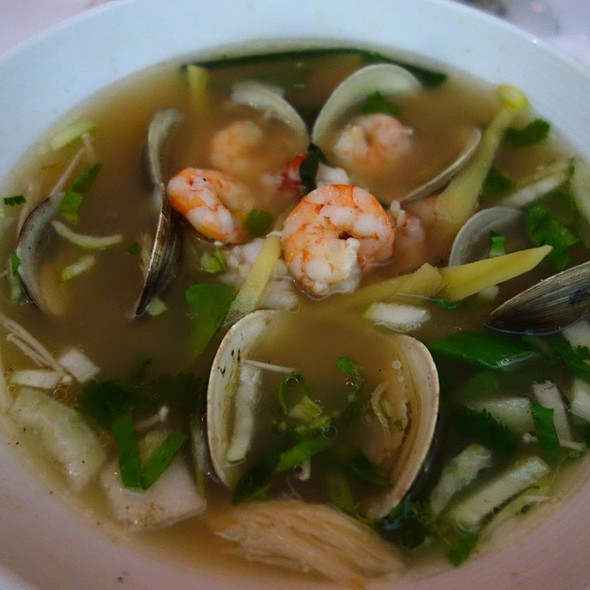 Fish and Clam in Broth - AltaMare, Miami Beach, FL
