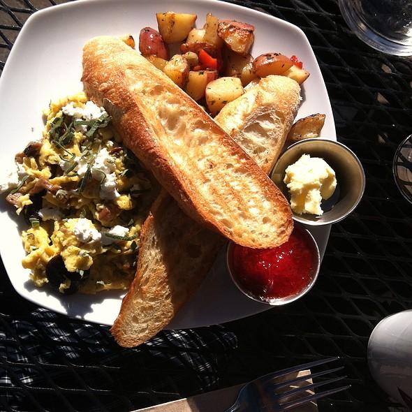 Wild Mushroom Scramble - Caffe Dolce, Missoula, MT