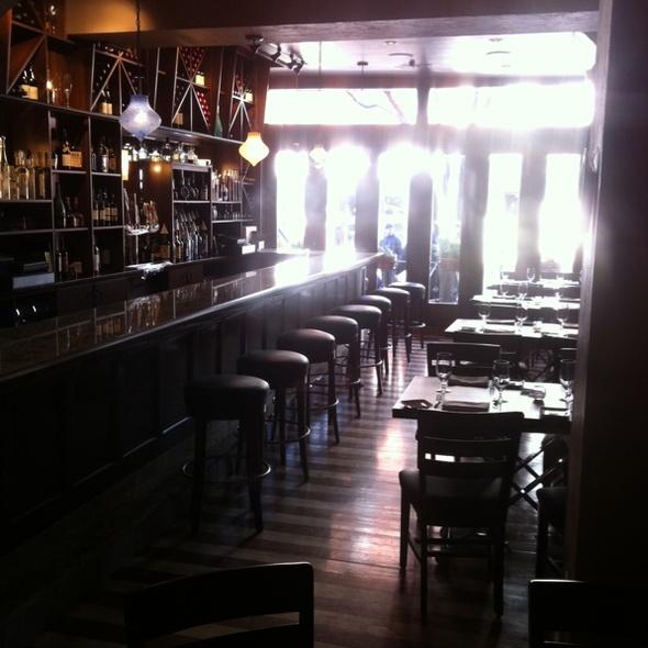 Bricco's new bar! - Bricco, Boston, MA