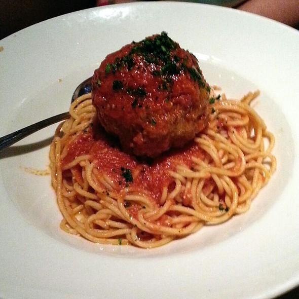 OneReally Really Big Meatball - Jack Astor's - Square One, Mississauga, ON