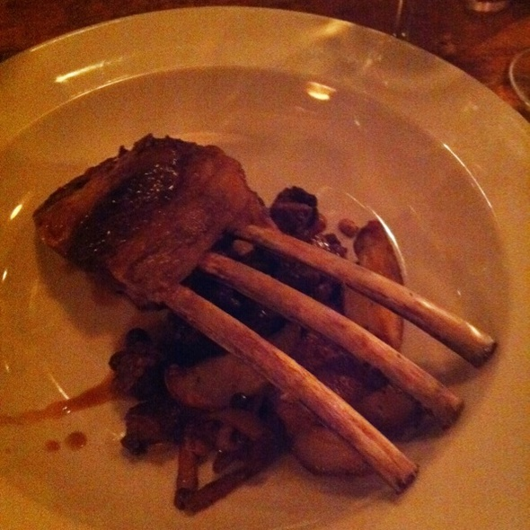 Colorado Rack of Lamb - La Bottega - Vail, Vail, CO