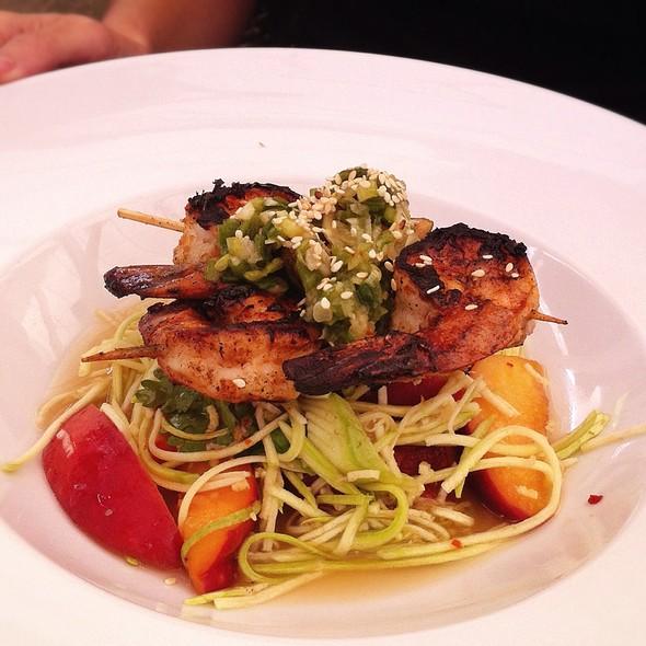 Grilled Shrimp Salad - Thomas Hill Organics, Paso Robles, CA