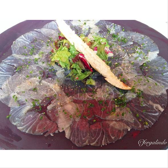 Fish Carpaccio - Brasserie LIPP, Mexico City, CDMX