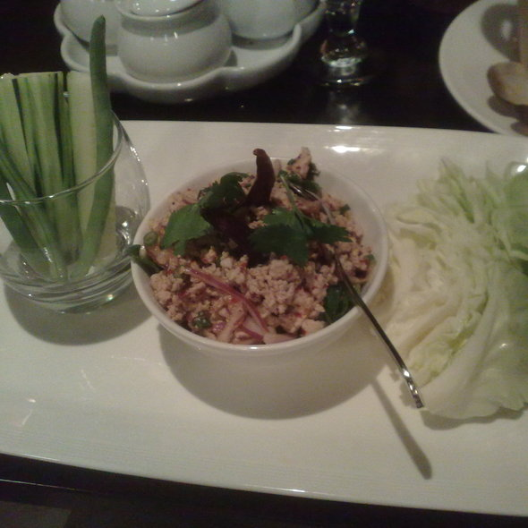Larb kai - Chantanee Thai Restaurant & Bar, Bellevue, WA
