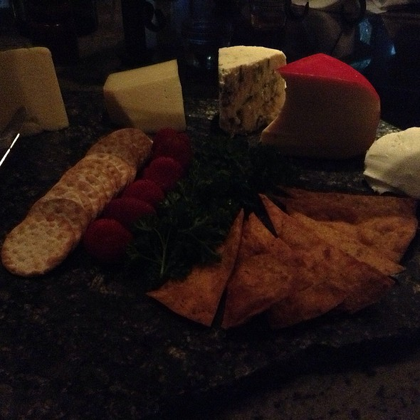 Cheese Plate - Dempsey's Steakhouse at Saddlebrook Resort, Wesley Chapel, FL