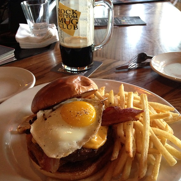 2:00Am Burger  - Rock Bottom Brewery Restaurant - Orchards, Westminster, CO