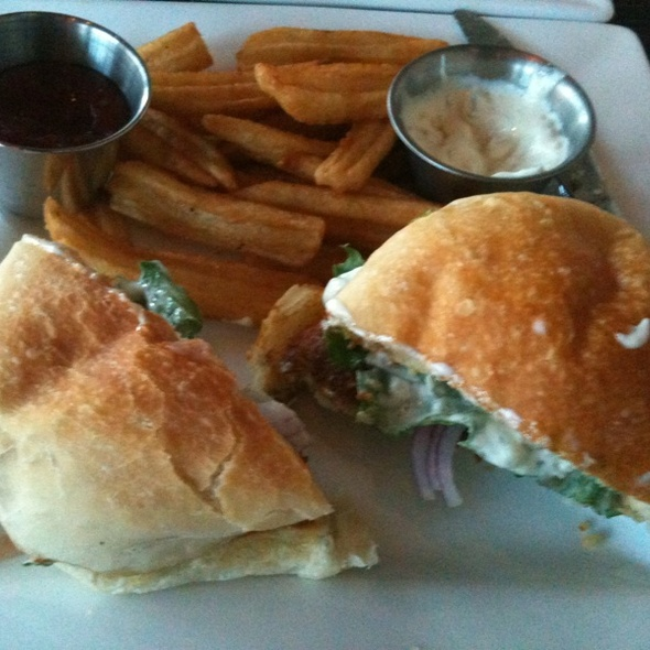 Crab Cake Sandwich - Landmark Americana - University City, Philadelphia, PA