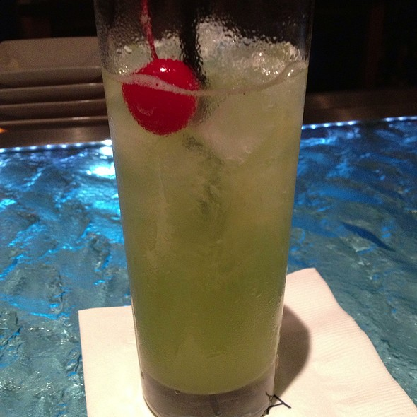 Fizzy Pineapple - Ostra at Mokara Hotel & Spa, San Antonio, TX