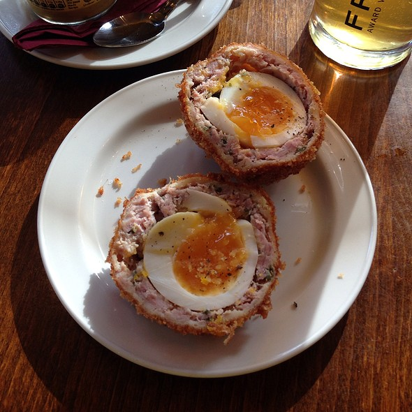 Scotch Egg - The Bull & Last, London