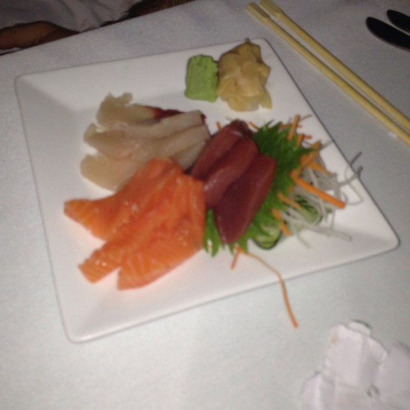 Sashimi Trio - 5 Palms Restaurant, Kihei, HI