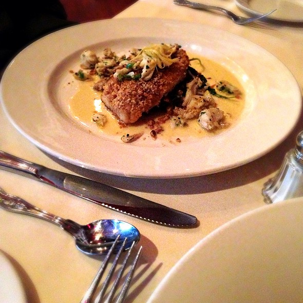 Pecan Crusted Puppy Drum - Muriel's Jackson Square, New Orleans, LA