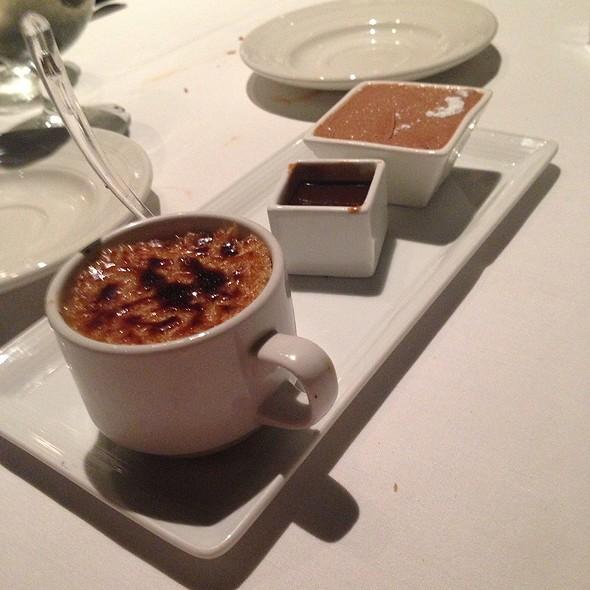 Creme Brulee - Aerie Restaurant & Lounge, Acme, MI