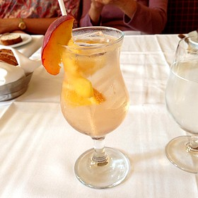 White Peach Sangria - Escabeche - The Prince of Wales Hotel, Niagara-on-the-Lake, ON