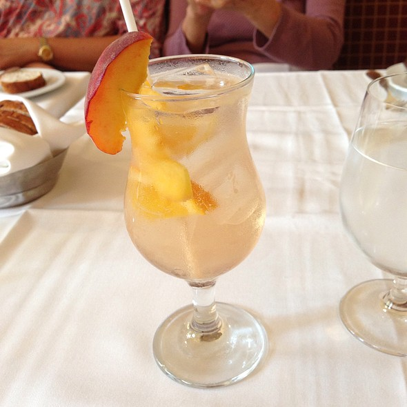 White Peach Sangria - Noble, Niagara-on-the-Lake, ON