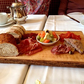 Chacuterie Plate - Escabeche - The Prince of Wales Hotel, Niagara-on-the-Lake, ON