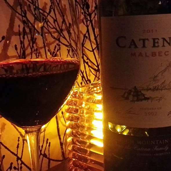 Catena Malbec 2009  - Roast - A Michael Symon Restaurant, Detroit, MI