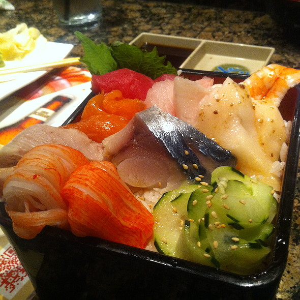 Chirashi - Kobe Japanese Steak House, Teppan & Sushi, Seal Beach, CA