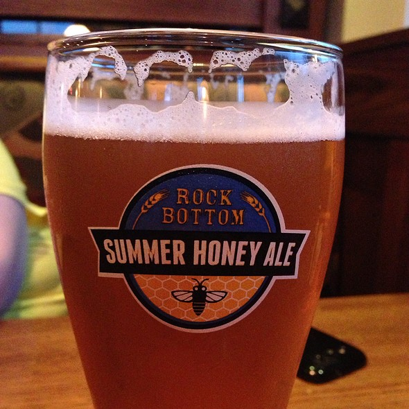 Summer Honey Ale - Rock Bottom Brewery Restaurant - Orland Park, Orland Park, IL