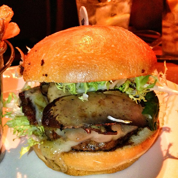 The Fun-Ghi Mushroom Burger - Holsteins - The Cosmopolitan of Las Vegas, Las Vegas, NV