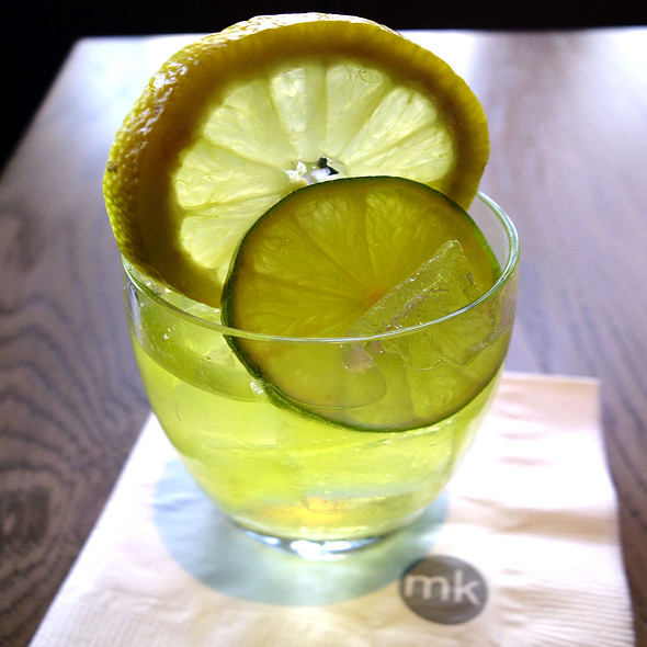 Lemon & Lime Cocktail - MK The Restaurant, Chicago, IL