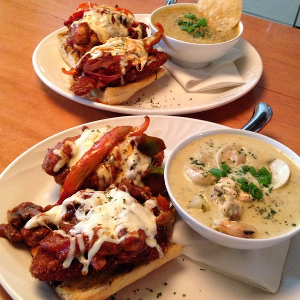 Veal Sandwiches With Soups - Cafe Carlo, Winnipeg, MB