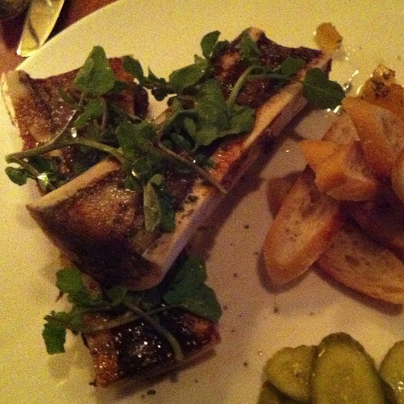 Roasted Bone Marrow - The Fly Trap, San Francisco, CA