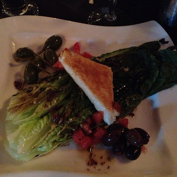 Grilled Romaine Salad - Ashten's, Southern Pines, NC